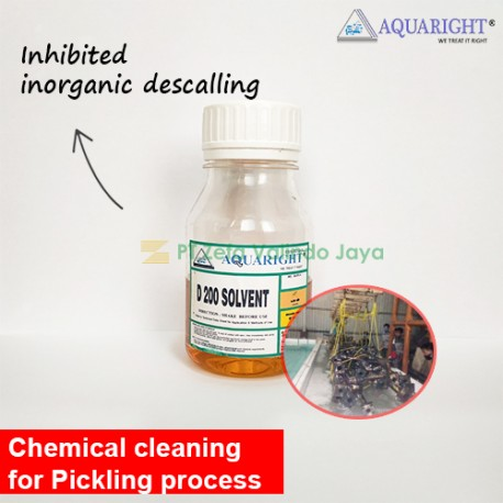 AQUARIGHT D-200 Solvent Acid Cleaner