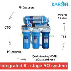 KAROFI Cabinet RO System 100GPD