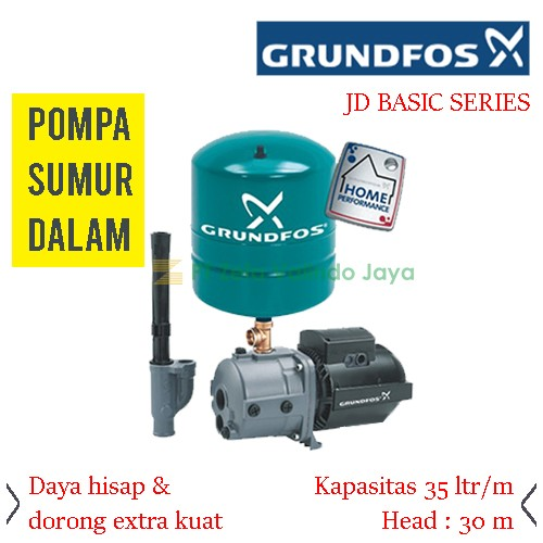 GRUNDFOS Water Jet Pump JD BASIC 7