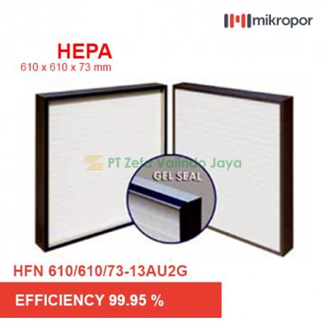 Mikropor HEPA / EPA Filter HFN SERIES GEL SEAL HFN 610/610/73-13AU2G