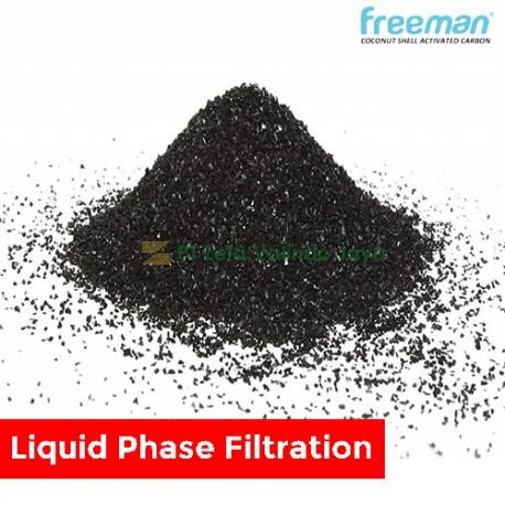 FREEMAN Karbon Aktif Batok Kelapa untuk  Filtrasi Fase Cair