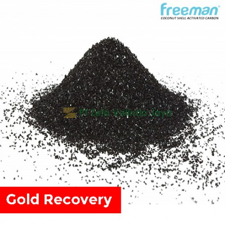 FREEMAN Coconut Shell Activated Carbon - Gold Recovery Series