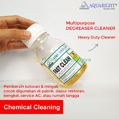 25 Kg -  AQUARIGHT FAST CLEAN Multi Purpose Degreaser Cleaner