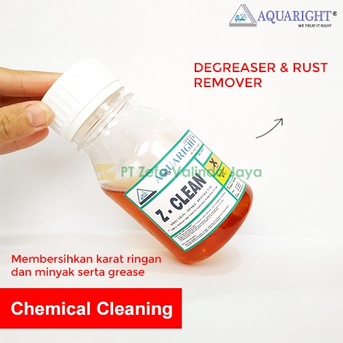 25 Kg -  AQUARIGHT Z-CLEAN Degreaser Cleaner and Rust Remover