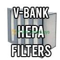 V Bank HEPA Filters