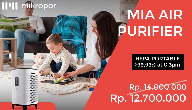 Promo HEPA Portable MIA Air Purifier